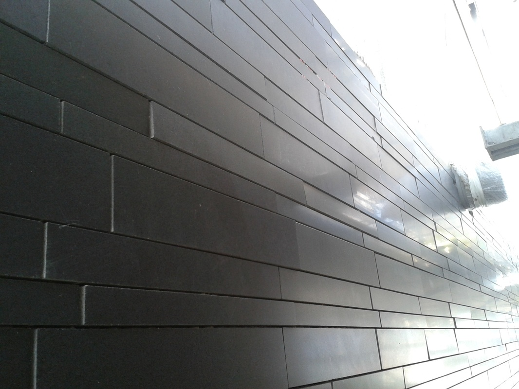Lynia™ Stone Cladding Wall Tiles in Basalt, Quartz and ...