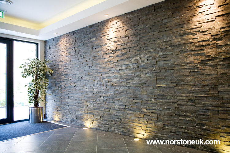 Charcoal Stone Cladding Xls Project London