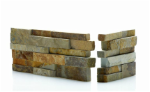 Ochre Blend Stacked Stone