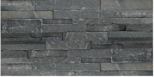 Charcoal Stone Cladding