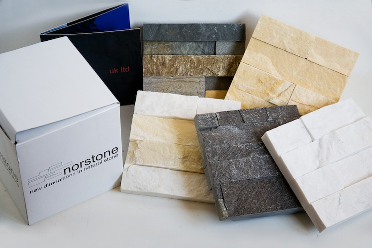 Request a stone panel Sample Box
