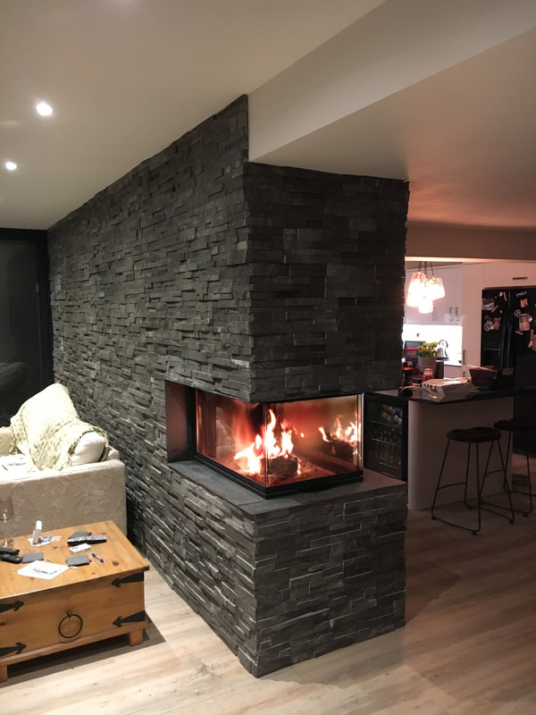 Fireplace Stone Cladding Norstone Uk Stone Cladding Experts